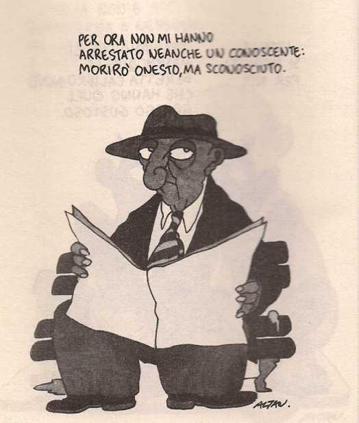 Altan, vignetta pubblicata nel 1985