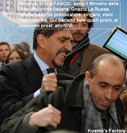 Il tipico aplomb del Ministro La Russa