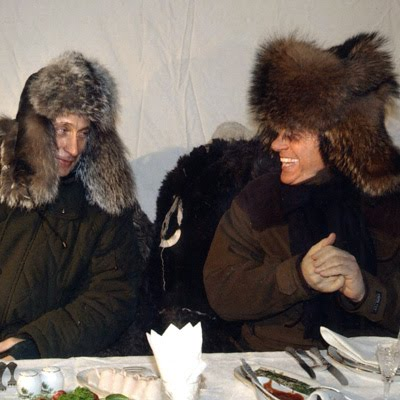 Berlusconi e Putin nei pressi di Mosca