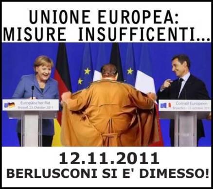 Berlusconi Misure insufficienti