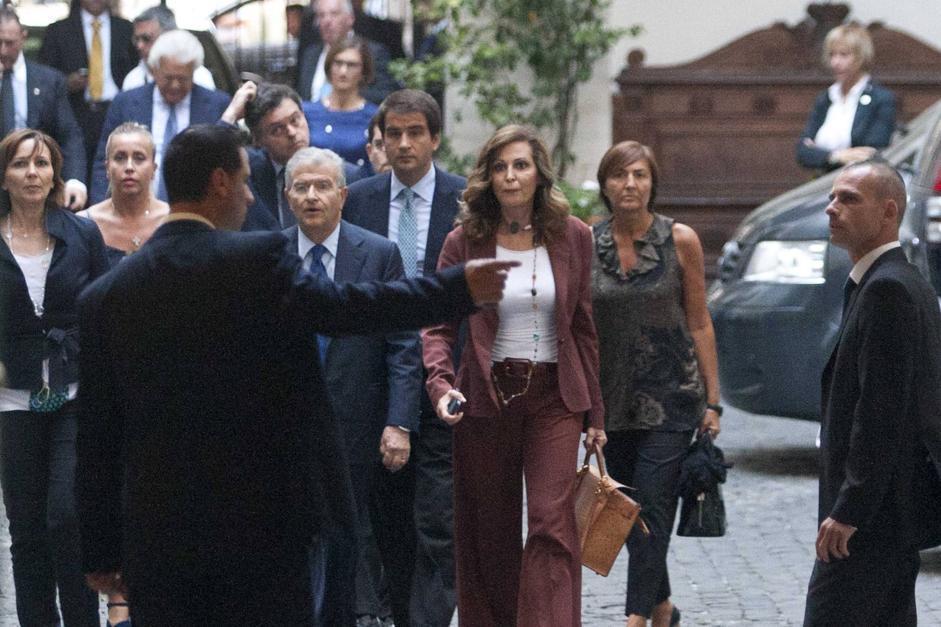 Palazzo Grazioli - sentenza Mediaset Berlusconi